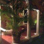 porch with hammock