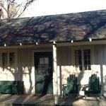 petit cottage desuet mais tellement amerique profonde ....