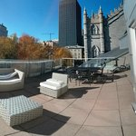 360 view of rooftop terrace