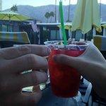Happy hour - wine, beer, pomegranate or reg. margaritas!