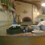 il forno e il banco del pizzaiolo