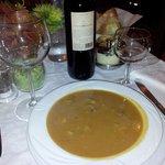 la mitica zuppa di funghi e castagne piatto forte della casa !!!