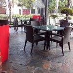 Parte de la terraza de nuestro restaurante Sarasota
