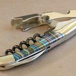 Corkscrew with gemstone handle