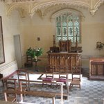 Interior of the separate Chapel on the grounds.