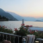 Lake Como at 7pm in september