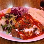 The Iskender. Kebab heaven!