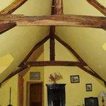 soffitto chambre jaune