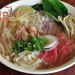 Pho Dac Biet: Beef Rice Noodle Soup with various cuts of beef
