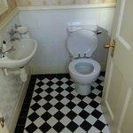 Extra mini bathroom