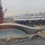 View of Olympic Park from Breakfast room