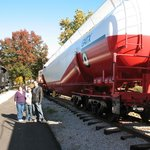 Largest tanker car