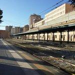 La stazione di Agrigento dove si trova l'hotel