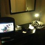 tv con scrivania