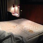 Mattress in my hotel room on 05 nov 2013