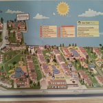 План территории отеля