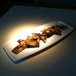 Petit Fours - Cashew and Sesame Chocolate Bark