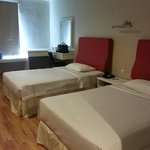 Room 002:  Dresser and beds