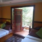 Room 8, door to balcony