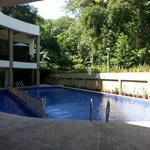 Small swimming pool area