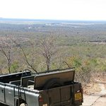 View from the Mountain at Zenzele River Lodge - Rust de Winter