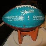 Shula's Steakhouse football
