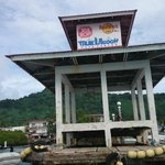 Jetty for dive boats and trips to other islands