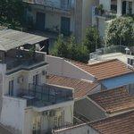 l'hôtel Byron vu de l'Acropole