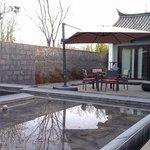 Deluxe villa patio