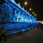 El mural de Papantla: vale la pena después de comer con nosotros!