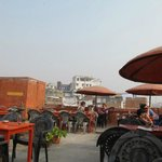 Rooftop area at Ganpati guesthouse