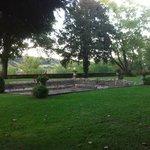 Le parc et son bassin