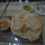 Hoppers for breakfast by Mrs. Jayakody