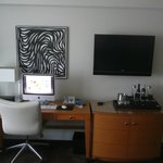 le bureau avec le Mac