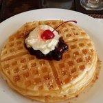 Blueberry pancake - breakfats