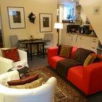 Apartment sitting room