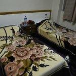 Las camas de una habitación doble