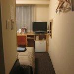 客室 狭さがわかります