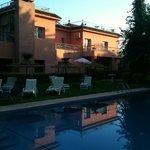 La piscine le matin