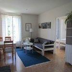 Lägenhet med egen bastu och 2 sovrum