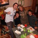 En la cocina con amigos argentinos