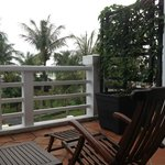 Balcony & lounger