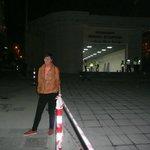 New Marmaray station outside hotel entrance.