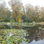 Lago nos jardins
