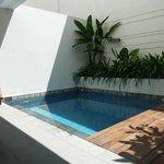 Room 1003's plunge pool