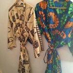 Locally made bathrobes