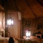 Cabane intérieure