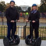 Mark and Donna on Segway Tour in Washington DC