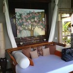Relaxation area of the Villa