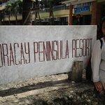 Front of boracay peninsula
